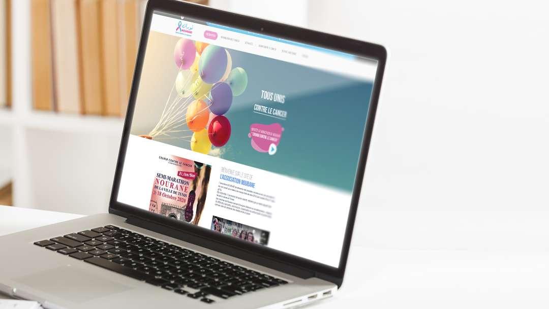 Création site web The Webside