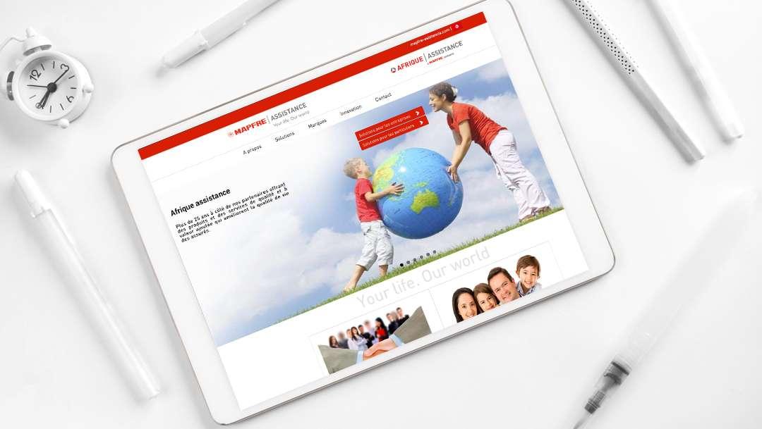 Portfolio développement web Tunisie